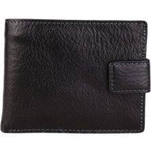 ITALSKÉ Kožená peněženka Vera Pelle Italská černá GS8252