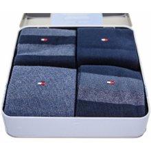 TH Classic Stripe 4P. Box M modrá