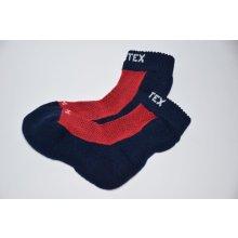 dfd142787cc Surtex Ponožky 80% merino pro dospělé - červené