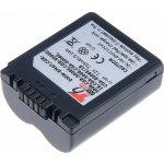 T6 power DMW-BMA7, CGR-S006, CGR-S006E 710 mAh baterie - neoriginální
