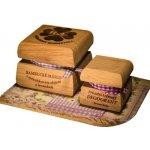 RaE Bambucké tělové máslo 50 ml + Krémový deodorant Nature 15 ml Levandule dárková sada