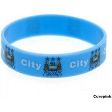 Silikonový náramek FC Manchester City modrý 324831 CurePink