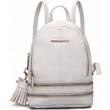 5fb8f134d Miss Lulu Roztomilý Designový Batůžek Bílý