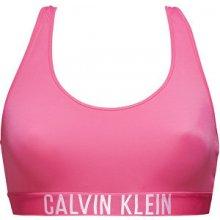 Calvin Klein Sportovní plavková podprsenka Racer Back Bralette KW0KW00076-505 Fuchsia Purple