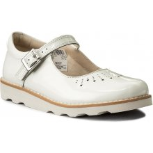 CLARKS - Crown Jump 261329356 White Patent