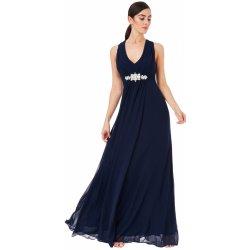 Filtrování nabídek Goddiva večerní šaty s překříženými ramínky modrá ... 1a114c1035