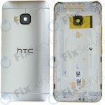 Kryt HTC One M9 zadní stříbrný