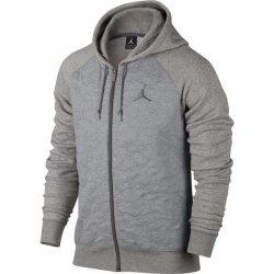 Nike Air Jordan Fleece Hoodie ŠEDÁ alternativy - Heureka.cz 6f990e591d