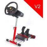 Wheel Stand Pro , stojan na volant a pedály pro Thrustmaster SPIDER, T80/T100,T150,F458/F430, červený