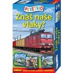 Betexa Pexetrio: Znáš naše vlaky?