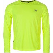 Karrimor Long Sleeved Running T Shirt Mens Fluo Yellow
