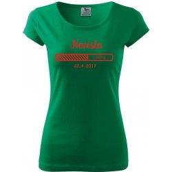 Tričko dámské Loading nevěsta středně zelená od 229 Kč - Heureka.cz de5ca37f99