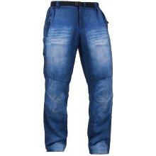 ALTISPORT pánské outdoor kalhoty ASSET ALMW15040 MODRO černé :