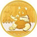 Panda Zlatá mince 2017 30 g