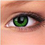 8762ab9d1 MaxVue Vision Phantasee Vivid Green barevné nedioptrické tříměsíční 2 čočky
