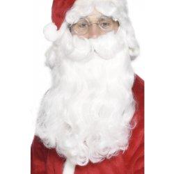Karnevalový kostým Vousy Mikuláš deluxe 38 cm 9d5c87a1744