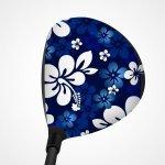 ClubCrown - Tropical Flowers Blue