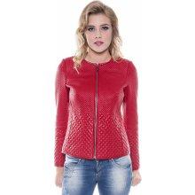 Giorgio Di Mare dámská kožená bunda GI6697223 Red