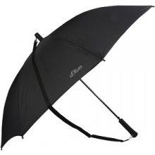 S.Oliver Pánský holový vystřelovací deštník Shoulder černý 72461SO001 černá