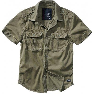 Brandit vintage shirt 1/2 olivová