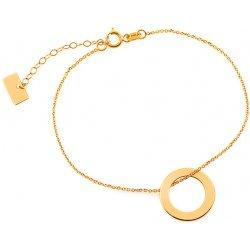 e23c543d3 iZlato Design zlatý náramek řetízek kruh Celebrity IZ8284 od 2 151 ...