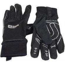 Nordblanc NBWG4700 softshellové rukavice černá