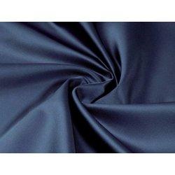 27ea148182ad Goldea dekorační látka - satén - vzor 2460 modrá - šířka 300cm 300 cm