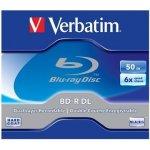 Verbatim BD-R 50GB 6x, DualLayer, krabička, 5ks (43748)