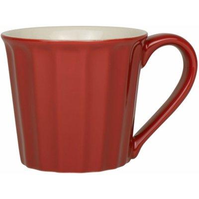 Ib Laursen Hrneček Mynte strawberry červená barva keramika 250 ml