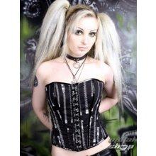 Hell bunny korzet dámský Zipper corset