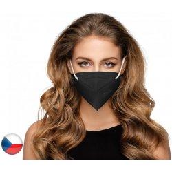 Dama Trade General Public respirátor FFP2 černý 10 ks