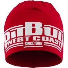 PitBull West Coast zimní čepice CLASSIC BOXING červená 48da8c49f9