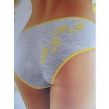 Wolbar kalhotky Funny 2503 - včela - šedá