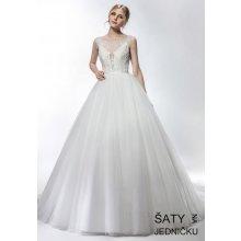65faf7faae1 Helen Fontaine svatební princeznovské šaty s odhalenými zády HFW2740