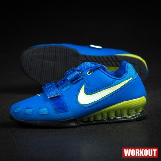 finest selection 83959 e9508 Nike Romaleos 2 Weightlifting Shoes Hyper Cobalt   Electric Yellow-Black od  4 851 Kč - Heureka.cz
