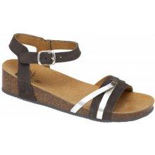 c72b32b135 Scholl KELLY tmavě šedé zdravotní sandály