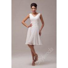 Společenské šaty krátké Ivory CL6059