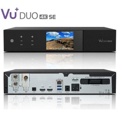 VU+ DUO 4K SE (1x dual FBC DVB-S2X + 1x DVB-C FBC)
