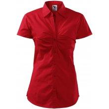 Adler Dámská košile s krátkým rukávem Chic - Červená