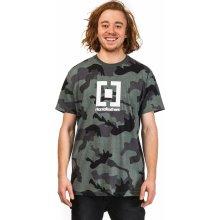 Horsefeathers BASE T Shirt olive camo