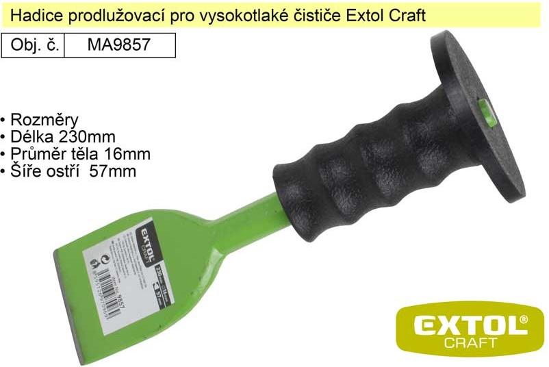 ee4e19a4128b2 Sekáč plochý s chráničem 230x16x57mm Extol Craft 9857 alternativy -  Heureka.cz