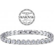 Silvego náramek ARIANA z chirurgické oceli se Swarovski Crystals DGB0324
