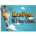Plechová cedule: Monty Python (Holy Grail) - 30x40 cm