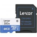 Lexar microSDXC 64GB Class 10 LSDMI64GB1EU300A