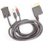 VGA kabel + 2x cinch Xbox 360