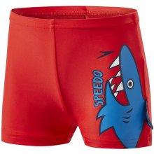 Speedo Fin Friends Aquashort Kid Risk Red Neon Blue