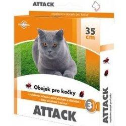 Attack antiparazitární obojek 35cm