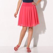 Blancheporte dámská jednobarevná rozšířená sukně malinová