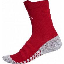 Adidas ponožky Performance AlphaSkin TRX CR UL Tmavě červená   Bílá 198bdfa128