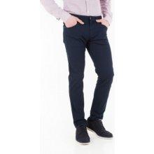 Pánské modré plátěné kalhoty Pepe Jeans JACQUARD Modrá e075bf8d3b